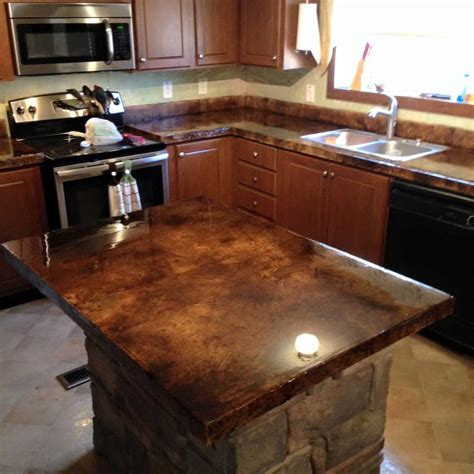 concrete kitchen countertops kitchen countertop remodel save money and time direct