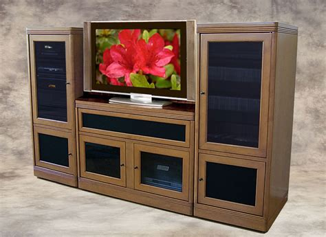 System Cabinet Designs by Theater Tech System Two Wall Unit Tt 100 Tv Base And 2