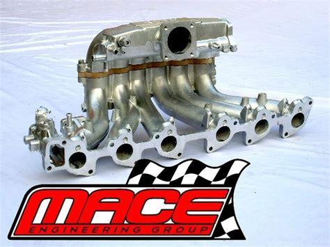 cold air intake upper manifold insulator  nissanholden rb vl  mace engineering group