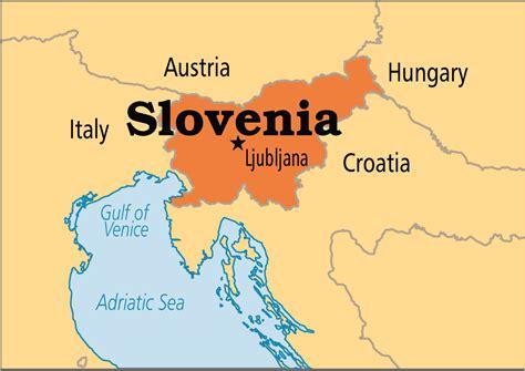 slovenia on world map slovenia operation world