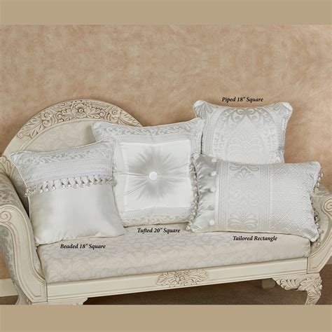 white puffy comforter bianco puff jacquard solid white comforter bedding by j