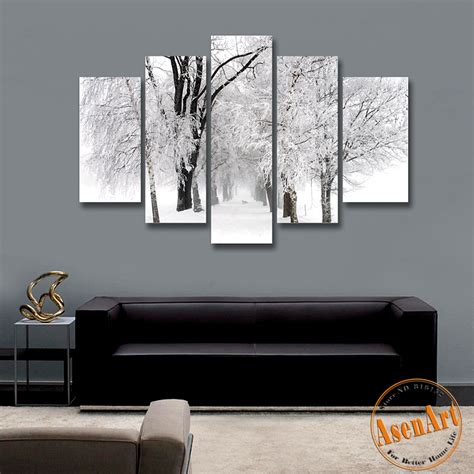 winter wall decor popular winter snow paintings buy cheap winter snow