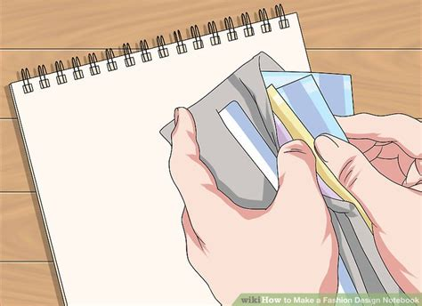 design clothes wikihow how to make a fashion design notebook 13 steps with