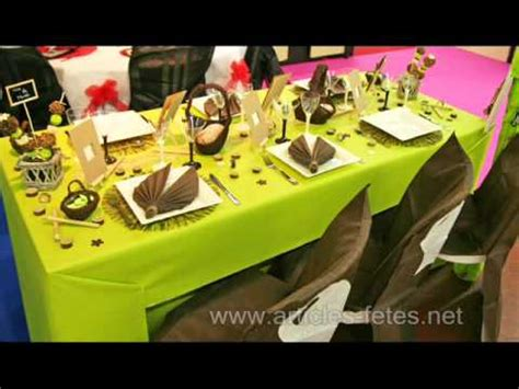 decoration articles nouvelles d 233 corations de table sur articles fetes net