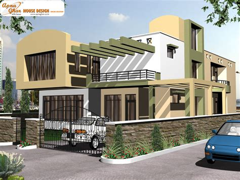 house designs duplex house design apnaghar house design page 4