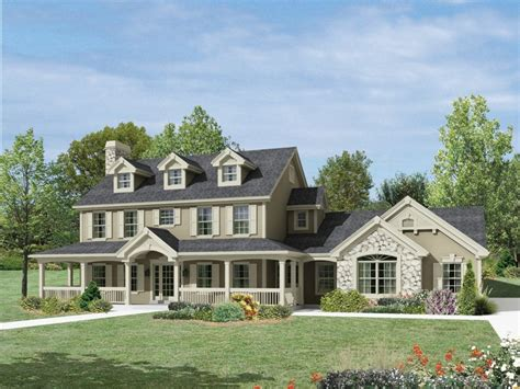 colonial farmhouse with wrap around porch milburn manor colonial house plan alp 09jf chatham