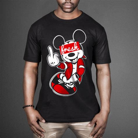Mickey Mouse Shirt mickey mouse fresh t shirt wehustle menswear