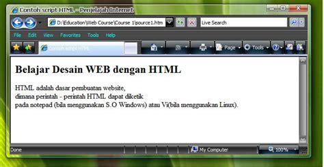 belajar membuat website dengan xp belajar membuat website