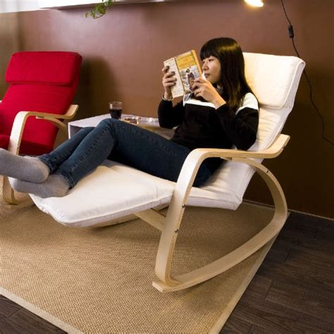 most comfortable sitting position sobuy comfortable relax rocking chair with foot rest