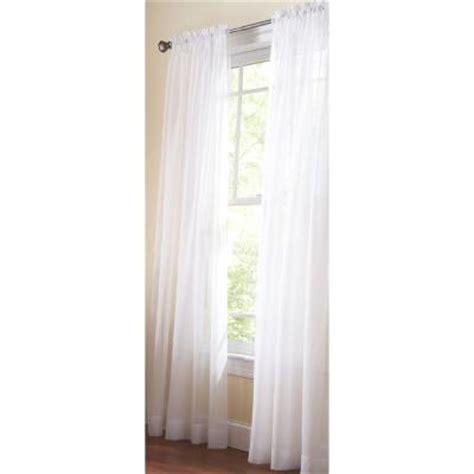 white rod pocket curtains martha stewart living pure white fine sheer rod pocket