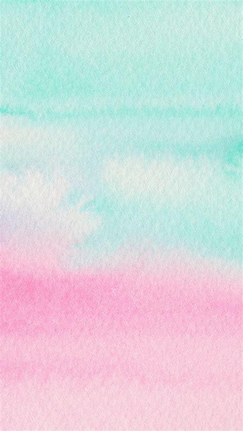wallpaper iphone watercolor mint aqua pink watercolour ombre texture iphone wallpaper