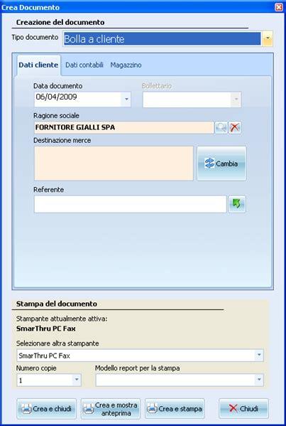vendita al banco software vendita al banco touch screen