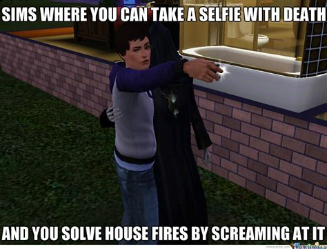 Sims Memes - sims logic by n00bkilla192 meme center