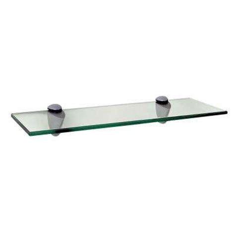 glass shelving home depot glass shelves shelf brackets storage organization