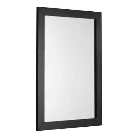 simpli home chelsea 30 in l x 22 in w framed wall mirror