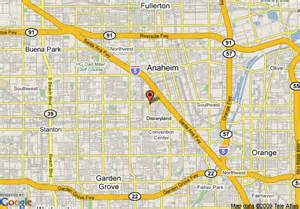 map of anaheim ca images