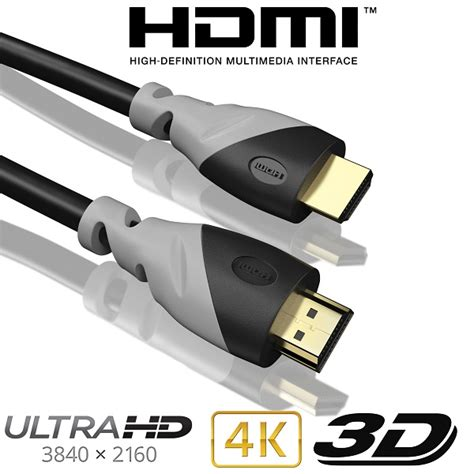 Kabel Hdmi 5 Meter Limited 5m hdmi kabel 1 4a highend 3d ethernet hd lcd led tv monitor f 252 nf meter