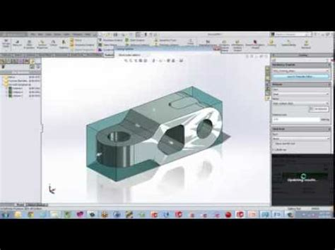 tutorial solidworks costing use solidworks costing to find the right price youtube