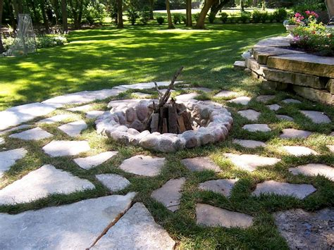 How To Build A Firepit In The Ground Top In Ground Pit Design Ideas