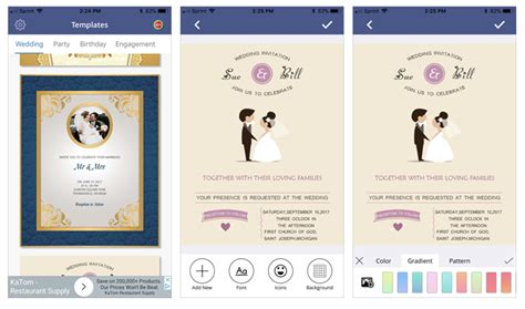 free mobile wedding invitations 6 digital wedding invitation apps to save money and time