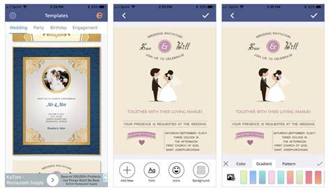 Free Invitation Card Maker App