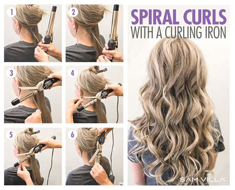different hair styles withthe wand how to curl your hair 6 different ways to do it
