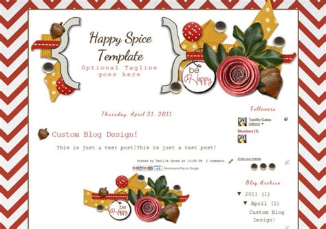 cute blog layout design fall blog template the cutest blog on the block