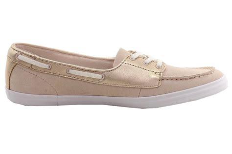 lacoste s ziane deck 116 1 slip on boat shoes ebay