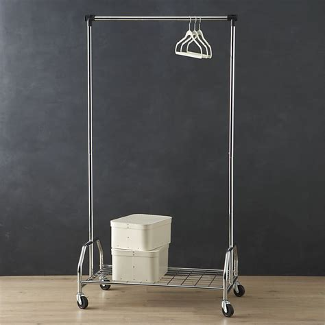 Wardrobe Rolling Rack by Keep Your Wardrobe In Check With Freestanding Clothing Racks