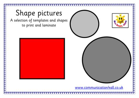 shape pattern activities early years search teaching resources tes