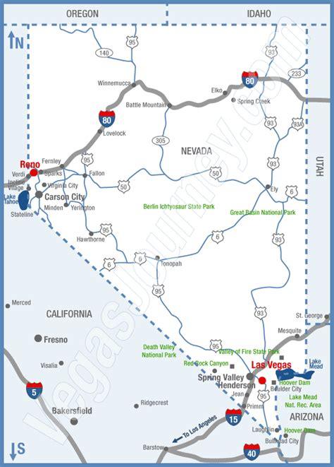 road map nevada usa nevada map and nevada satellite image