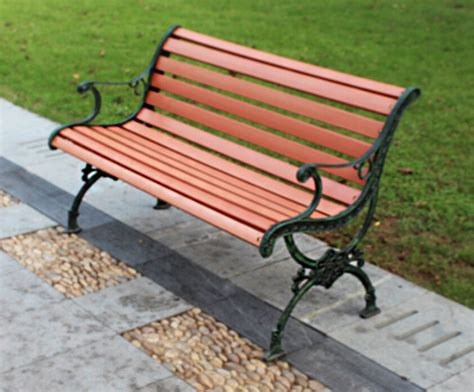 bench material outdoor waterproof high quality wpc material economic park