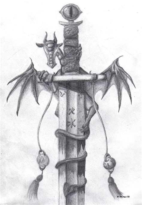 dragon sword by mathas on deviantart