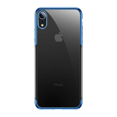 baseus clear plating anti yellowing pc protective for iphone xr 6 1 2018 alexnld