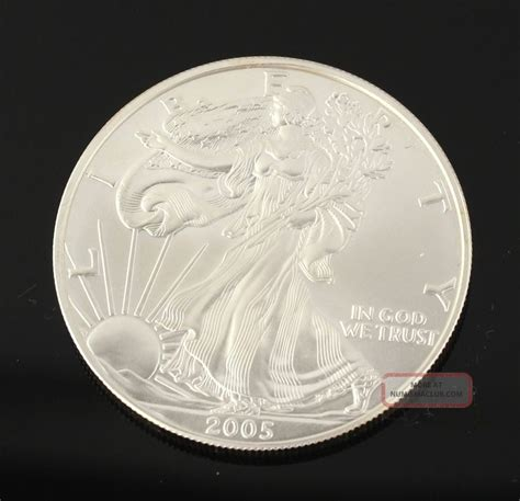 1 troy ounce american silver eagle coin value 2005 american silver eagle dollar coin 1oz troy
