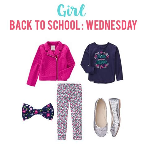 A Week Of Clothes My Back by Simplifying School Mornings The Crafting