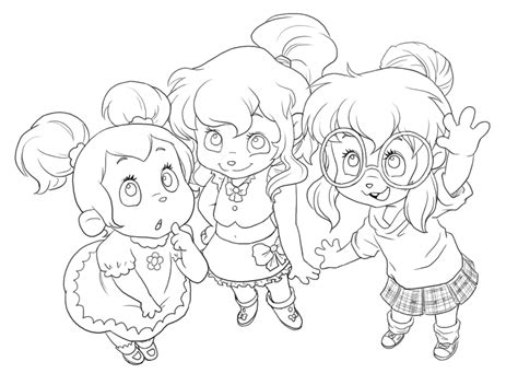 Printable Chipettes Coloring Pages Coloring Me Chipettes Coloring Pages