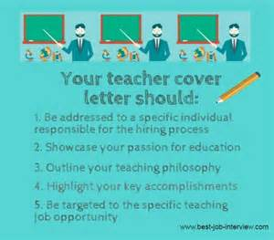 Generic Cover Letter For Teachers by Generic Teaching Cover Letter Sle