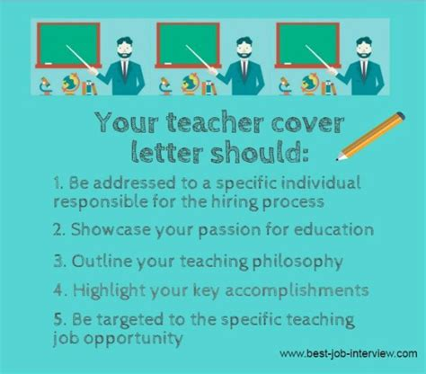 how to write a teaching cover letter cover letter