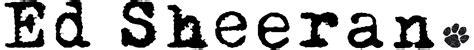 ed sheeran logo ed sheeran logopedia wikia