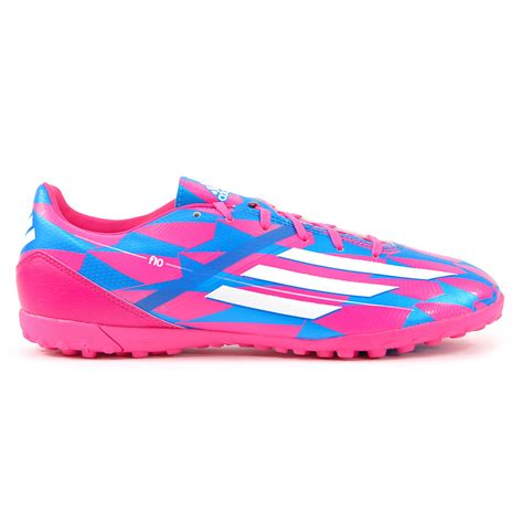 adidas soccer shoes for adidas f10 trx tf pink white blue turf soccer shoes m18320