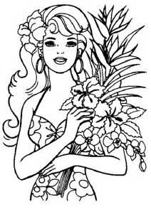 colorir e pintar desenhos da barbie colorir e pintar