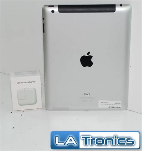 apple 4 128gb me406ll a 9 7 quot 4g verizon a1460 retina