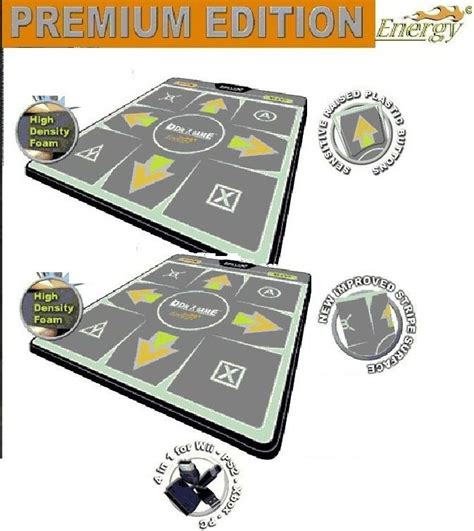 Ddr Mat Pc by Energy High Dense Ddr Mat Ps Ps2 Xbox Wii Pc Pad X 2