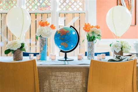 Handmade Air Balloon Decorations - how to make a air balloon centerpiece 10 tips for