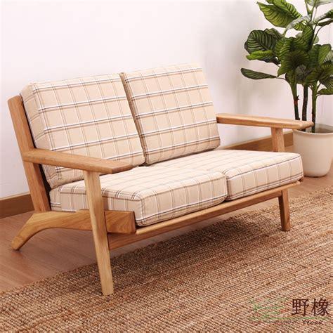oak s290 sofa fabric sofa american white oak solid