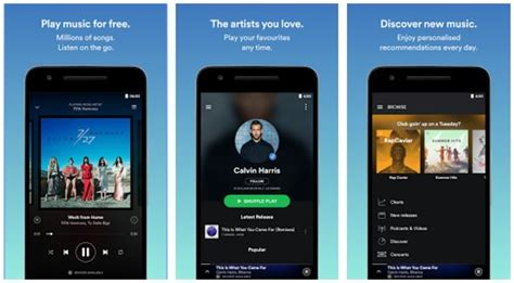 free spotify premium android spotify premium free the best free app