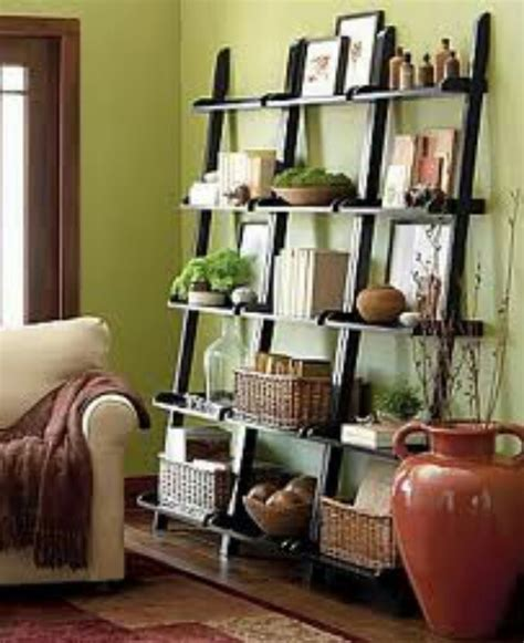 ladder shelves decorating ideas