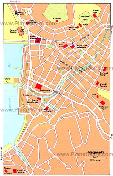nagasaki map nagasaki japan cruise port of call