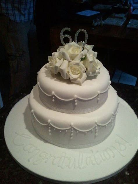 Simple but elegant anniversary cake   Wedding Planning